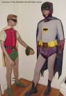Original Batman and Robin costumes