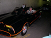 Burt Ward in the Batmobile