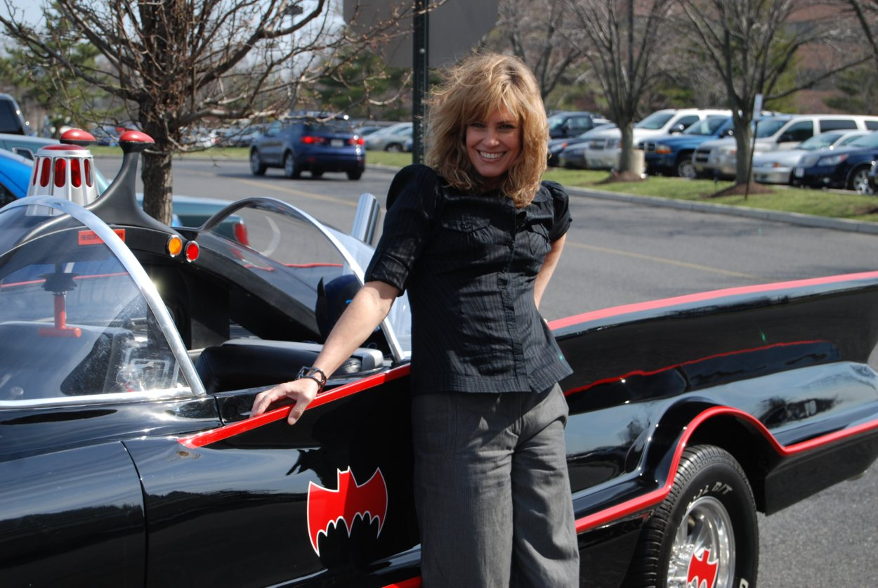 Celebrities With The Batmobile