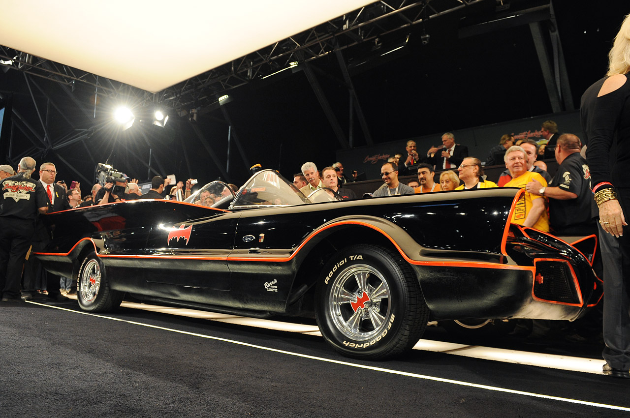 Auction Of The 1 Batmobile