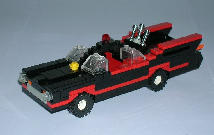 how to build a lego batmobile