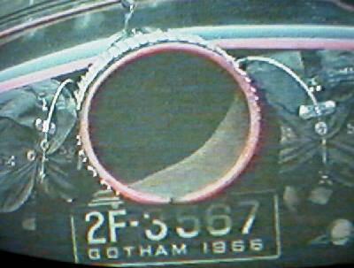 Batmobile plate #1
