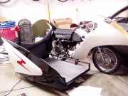 Sidecar with wing